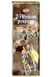 Wholesale Hem 7 African Powers Incense 20 Stick Packs (6/Box)